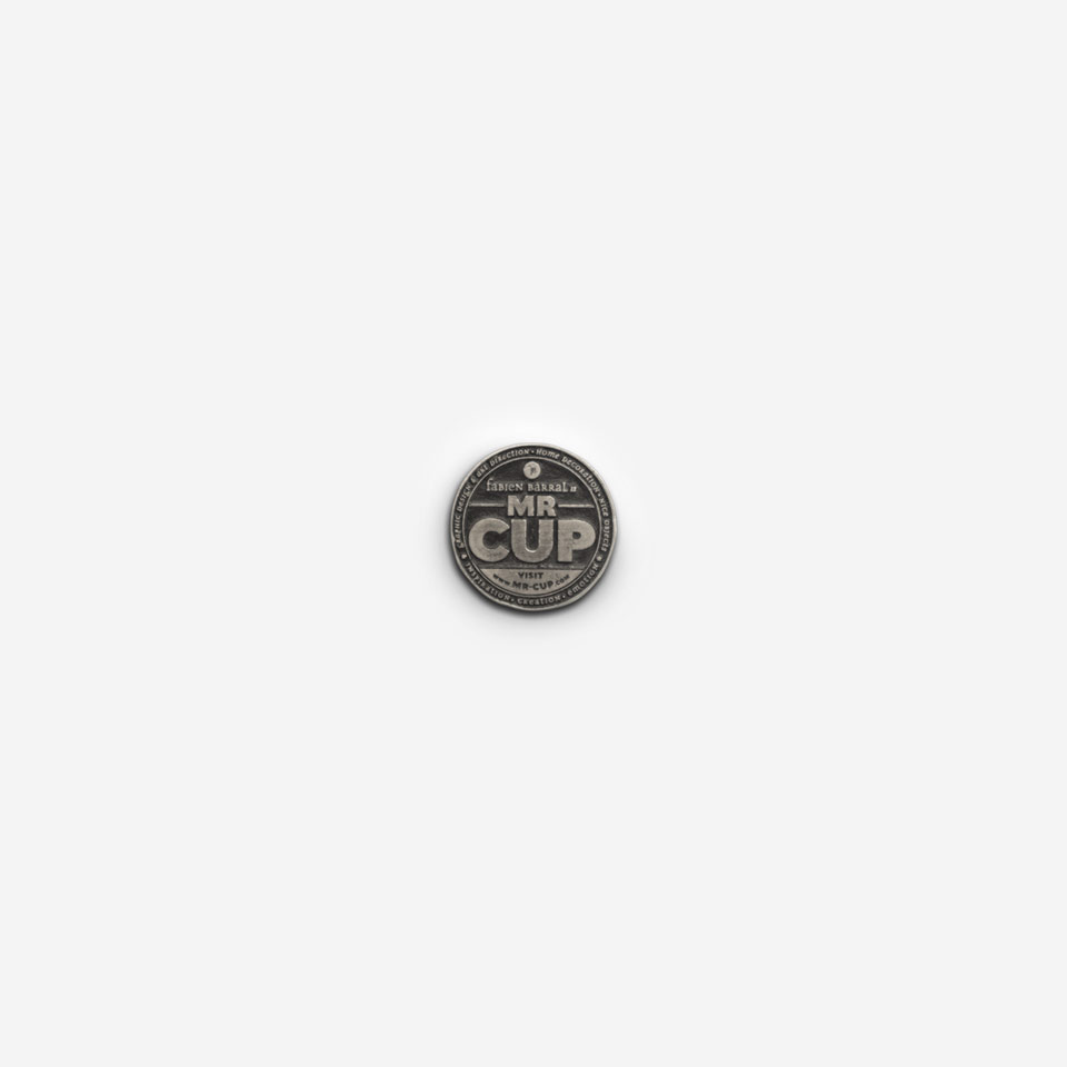 Mr Cup branding